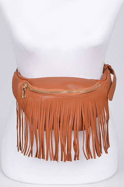 Fringed Fashion Fanny Pack