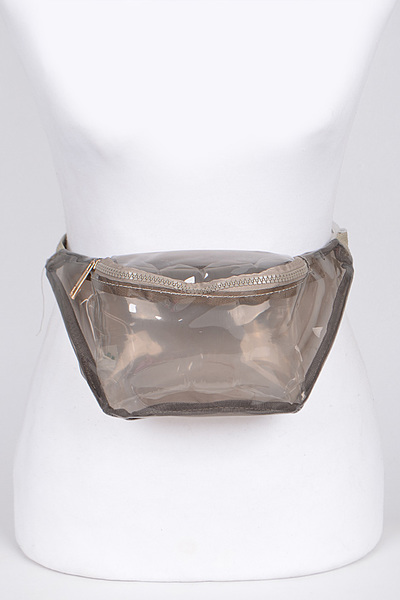 Clear Barbie Fanny Pack