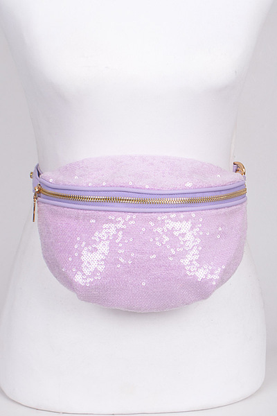 Bright and Shiny Sequins Fanny Pack