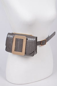 Snakeskin Print Multi Purpose Belt
