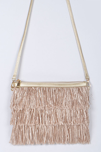 Fringed Lovely Clutch