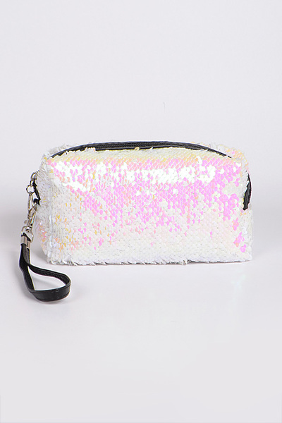 Sequins Flashy Cosmetic Pouch