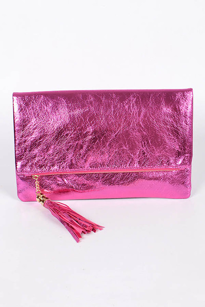 Party & Tassel Time Clutch