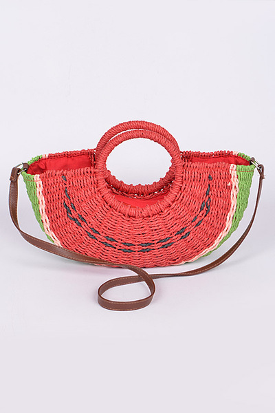 Watermelon Basket Clutch