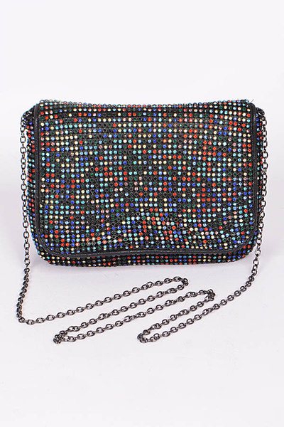 Mini Rhinestone Clutch