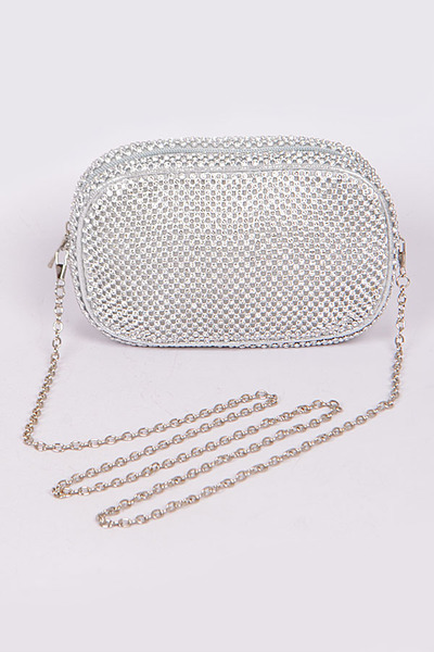 Mini Rhinestone Mini Clutch