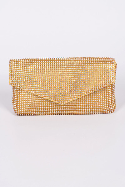 Mini Studded Simple Clutch