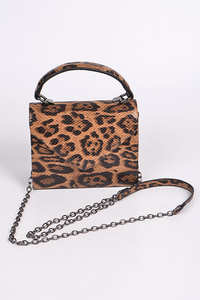 Leopard Small Clutch