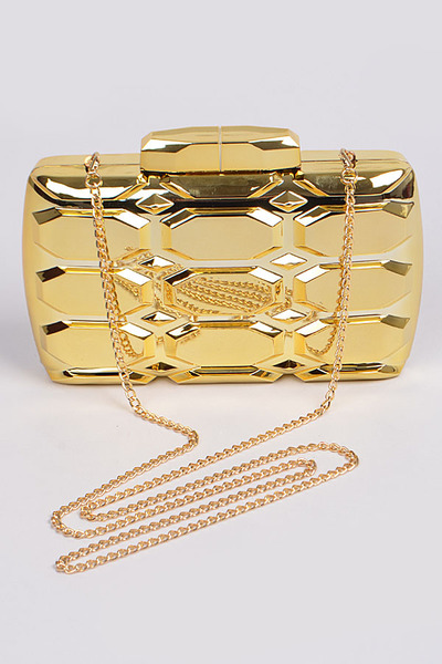 All Metal Chain Body Clutch