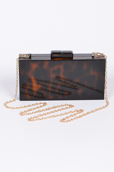 Rectangular Acrylic Clutch
