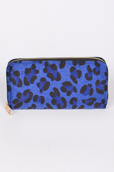 Leopard Pint Wallet