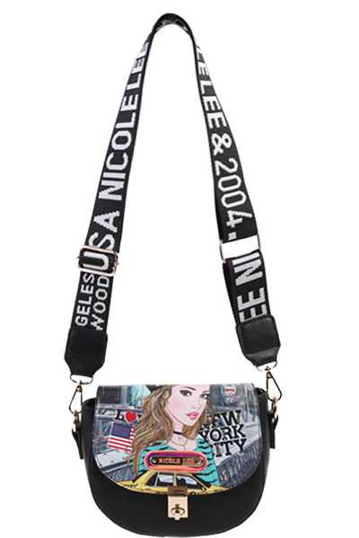 Nicole Lee Fashion Stylish Crossbody Bag
