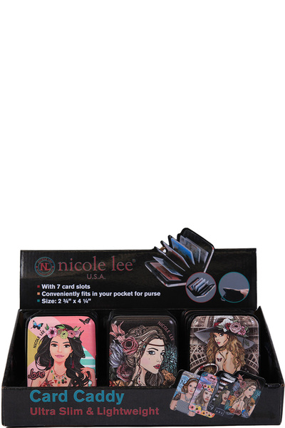NICOLE LEE JOSIE COMPACT CARD HOLDER