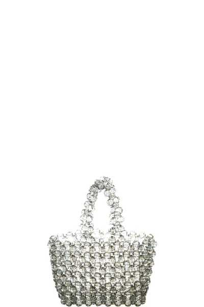 FASHION CRYSTAL BEADED SPARKLING MINI BAG