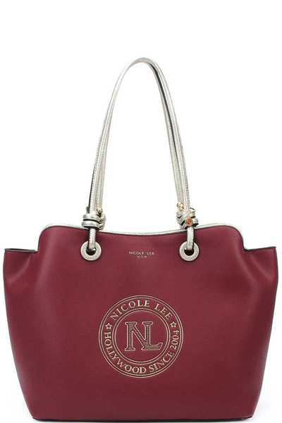 Nicole Lee STYLISH DESIGNER SATCHEL BAG