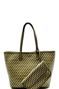 Reversible 2 In 1 Patterned Tote