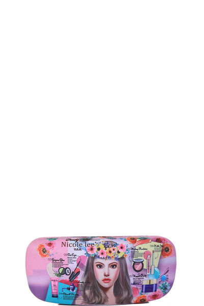 NICOLE LEE CLAMSHELL SUNGLASSES CASE