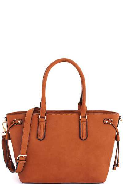 2in1 Modern Chic Shopper with Long Strap