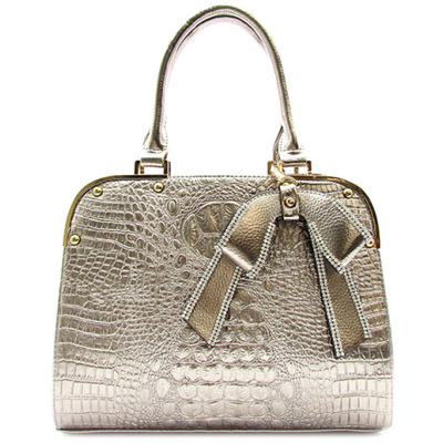 Alligator Skin Print Tote Bag