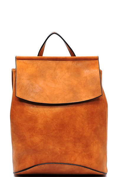 Convertible Flap Backpack Shoulder Bag