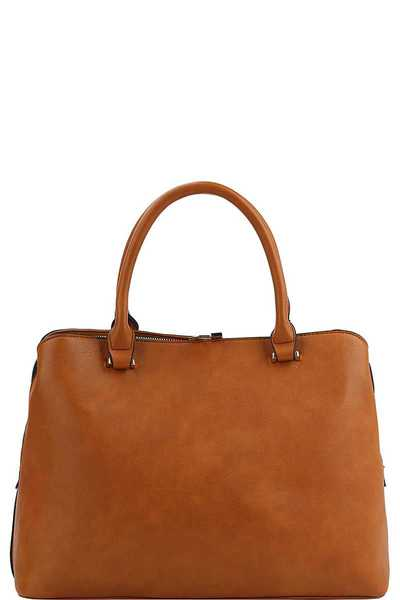 Chic Modern Stylish Satchel With Wide Strap