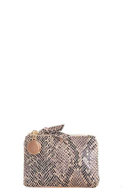 Cute Trendy Snake Pattern Coin Purse
