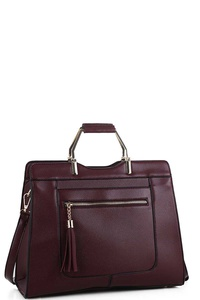 Modern Fashion Princess Classy Satchel with Long Strap