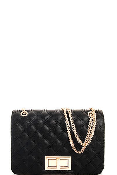 Princess Cute Quilted Crossbody Bag