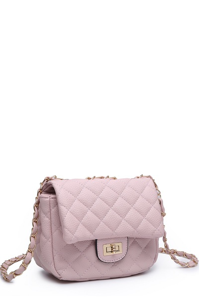 Classic Quilted Crossbody Bag