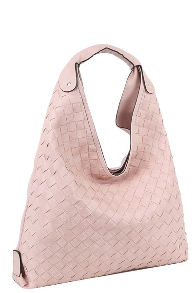 Woven Shoulder Bag Hobo