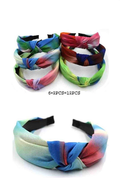 Mixed Color Knotted Headband