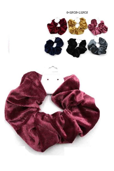 Velvet Fell Hair Tie Set