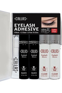 CALLAS EYELASH ADHESIVE GLUE 4 PCS SET