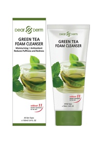 DEARDERM GREEN TEA FOAM CLEANSER