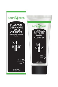 DEARDERM CHARCOAL DEEP PORE FOAM CLEANSER