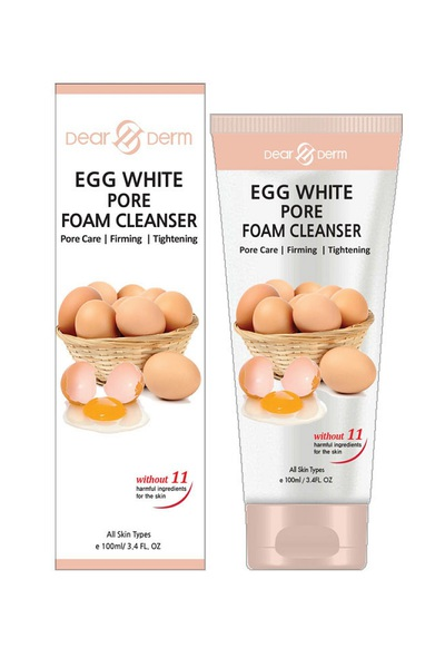 DEARDERM EGG WHITE PORE FOAM CLEANSER