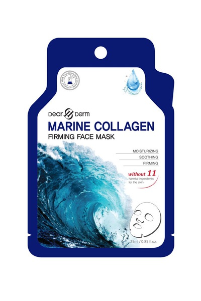 DEARDERM MARINE COLLAGEN FIRMING FACE MASK