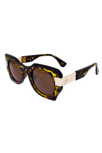 Womens rounded square fashion sunglasses