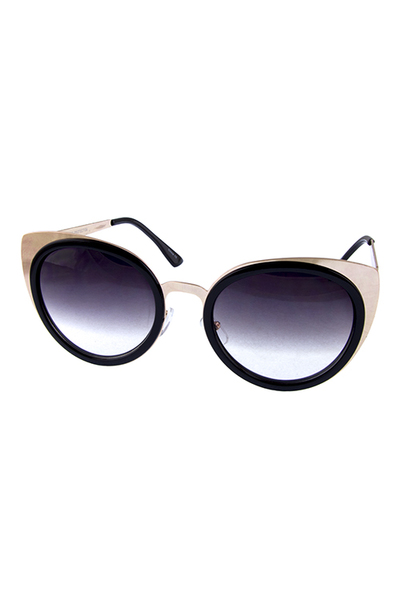 Womens glamour butterfly cat eye sunglasses