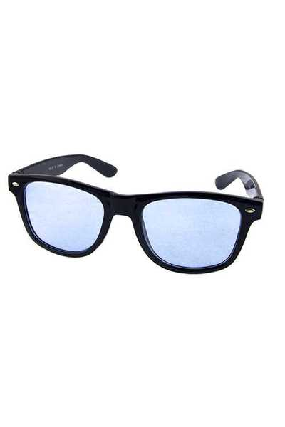 Womens square fashion plastic sunglasses