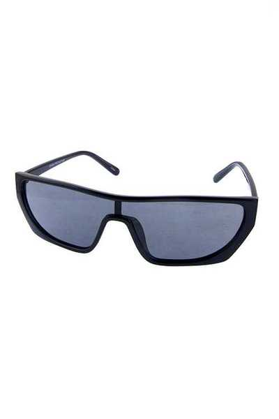 Womens square retro fashion plastic sunglasses