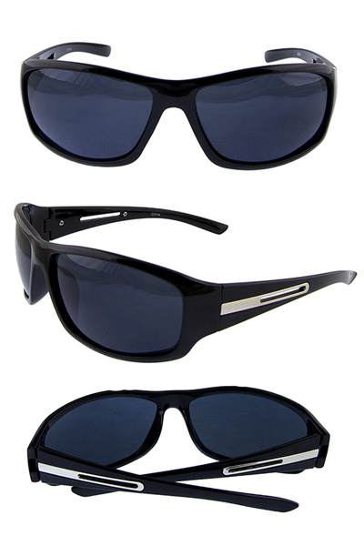 Mens UV protection plastic style sunglasses