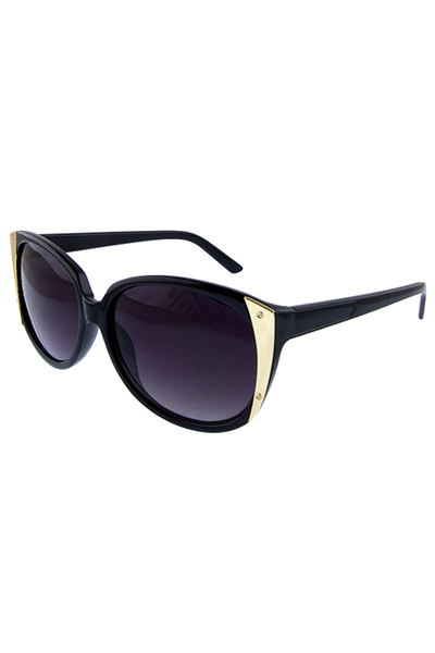 Womens catty square plastic blended sunglasses