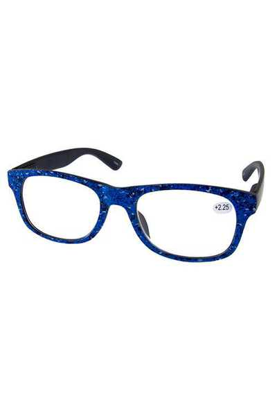 Plastic modern horn rimmed reading glasses