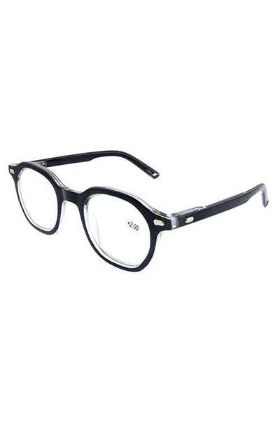 plastic classic square reading glasses