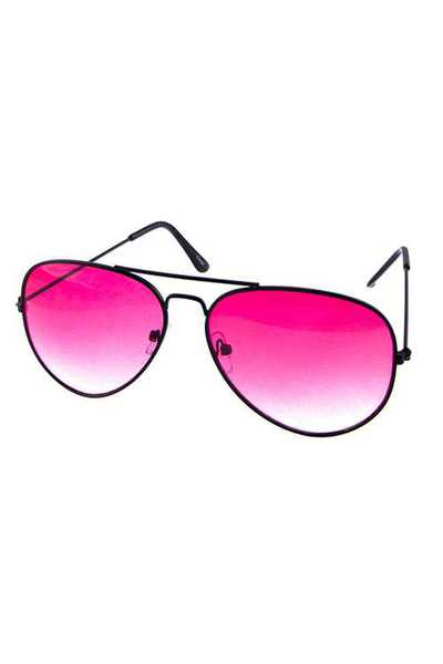 Womens metal aviator style sunglasses