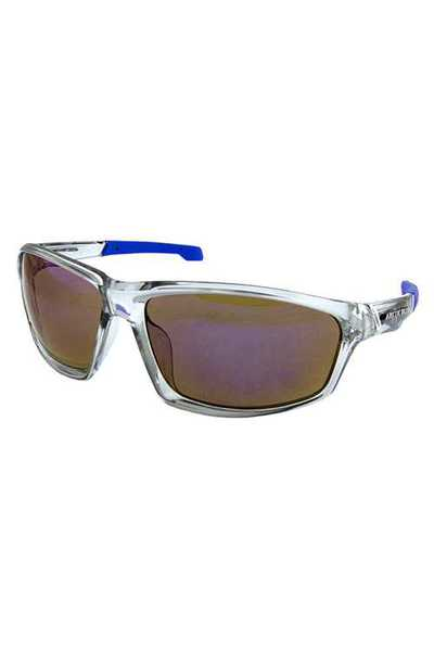 Mens square plastic retro active sunglasses