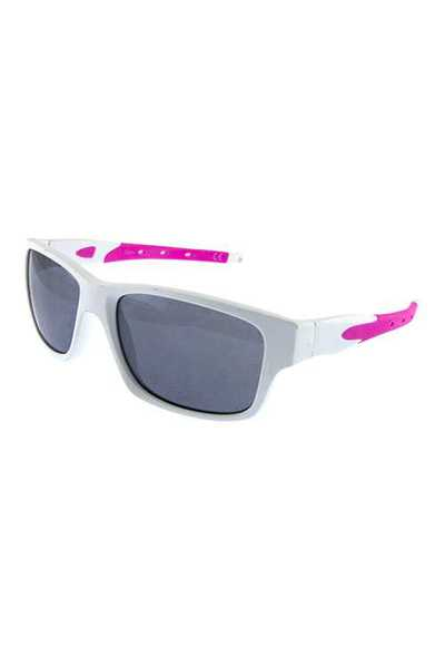 Unisex square plastic active sunglasses