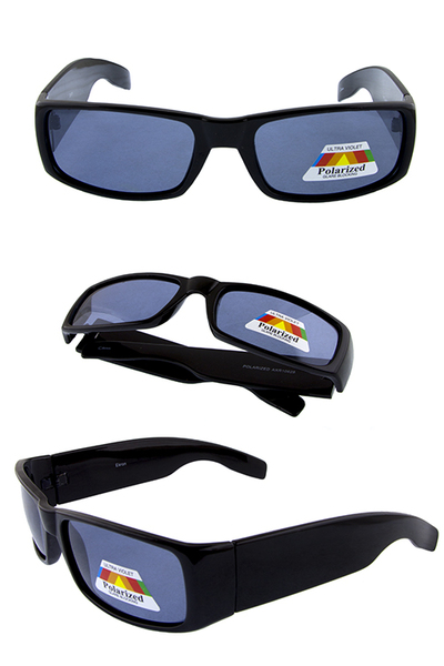 Mens polarized plastic sunglasses