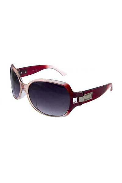 Womens square mature plastic style sunglasses